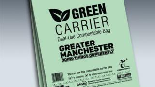 Green Carrier bag