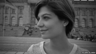 Juliana de Faria, woman who started the hashtag 'primeiroassedio'
