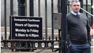 William David McFarland at Downpatrick Courthouse
