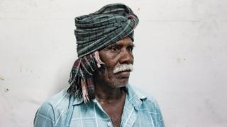 A portrait of Karpule, a farmer from Tamil Nadu