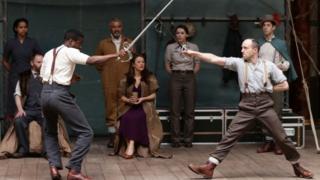 Globe production of Hamlet