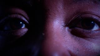 妇女的眼睛