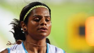 ভারতের দ্রুততম নারী স্প্রিন্টার দ্যুতি চাঁদ
