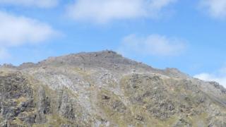 The summit of Cader Idris
