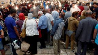 سوق شعبية في تونس