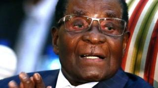 Madaxweynaha dalka Zimbabawe Robert Mugabe