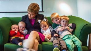 Sturgeon kids