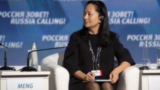 خانم منگ دختر بنیانگذار شرکت هواوی (Huawei) است