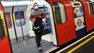 Passenger on Tube