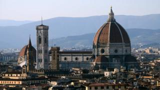 A general view of Florence