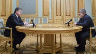 Петр Порошенко, Игорь Коломойский