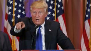 Rais Donald Trump wa Marekani