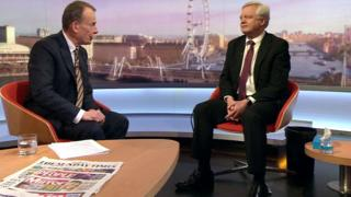David Davis and Andrew Marr
