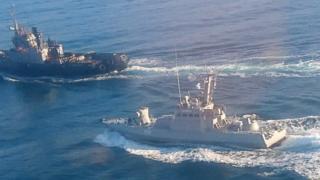 تصویری از رویارویی دو کشتی