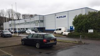 Technology Kasai plant in Merthyr Tydfil