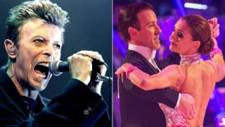 David Bowie and Katie Derham on Strictly Come Dancing