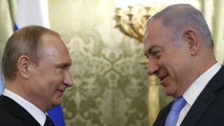 ولادیمیر پوتین و بنیامین نتانیاهو