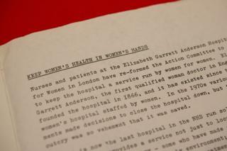 "Radical Nurses newsletter, 1988 ""Keep women's health in women's hands"""