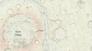 This is the first time that Ordnance Survey has mapped another planet