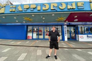 Martin Richardson from Happidrome arcade