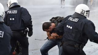 Demonstrasi G20 di Hamburg