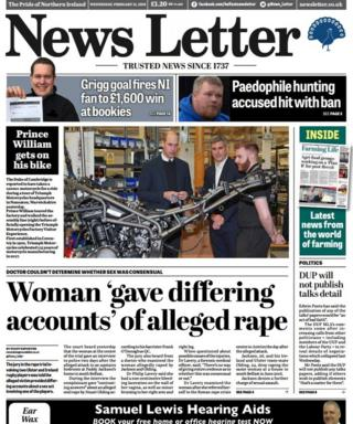 News Letter front page 21/02/18