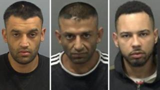 Idnan Akbar, 28, Mohammed Arshid, 37 and David Barnett, 24
