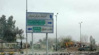 القوات العراقية تمكنت من استعادة الشطر الشرقي من الموصل