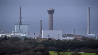 Picture of Sellafield nuclear power plant