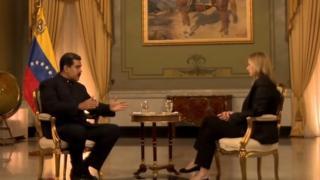 Nicolás Maduro dá entrevista à BBC