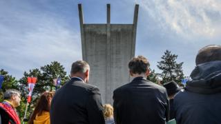 Ceremony to commemorate the 70th anniversary of the end of the Berlin airlift