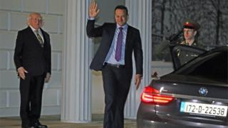 Leo Varadkar tendered his resignation as taoiseach to President Michael D Higgins on Thursday night