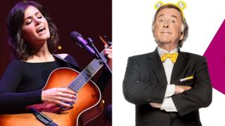 Katie Melua and Terry Wogan