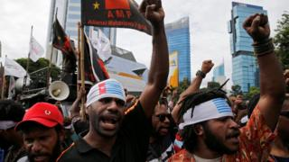 papua protes