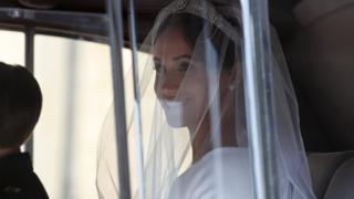 Свадьба принца Гарри и Меган Маркл - Меган прибывает на свадьбу