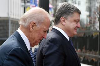 Байден і Порошенко