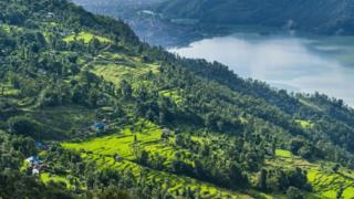 The Pokhara region of Nepal