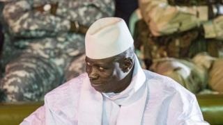 Yahya Jammeh yari yemeye ko Adama Barrow yamutsinze, aca yihindukiza mw'ijambo