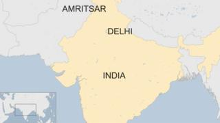 Map of Amritsar