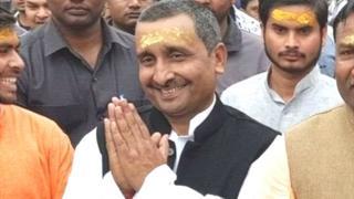 பாரதிய ஜனதா கட்சியின் சட்டமன்ற உறுப்பினர் குல்தீப் சேங்கர்