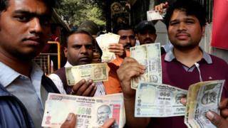 Последний день обмена денег в Индии