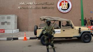 Un soldat Egyptien