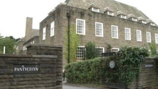 Picture of the Pantycelyn halls of residence