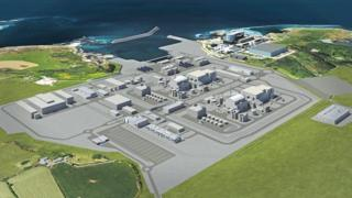 Latest rendering of the Wylfa Newydd site on Anglesey