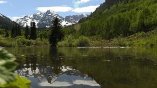 Скалистые горы в Колорадо
