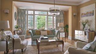 Laura Ashley living room furnishings