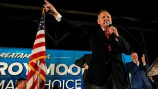 Roy Moore at 22 Sept rally