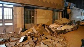 ईरान, भूकंप