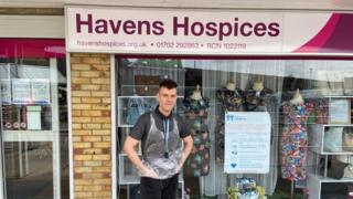 Eany Callahan, manager of Havens Hospices charity shops in Shoeburyness