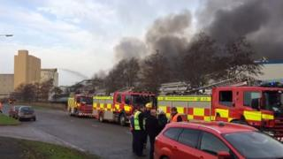 The Corby fire